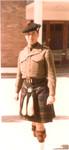 1964 Scotch College Teacher Mr Alisdair Courtney dressed in Cadet Uniform