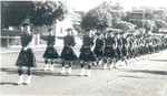 1961 Scotch College Cadet and N.C.Os Marching for the Claremont Anzac Day Parade