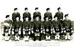 1961 Scotch College Cadet Photograph Teacher Alasdair Courtney 950 height x 2100 width mm