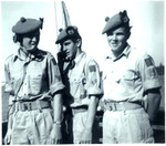 1963 Scotch College Cadet and N.C.Os Training Drill on a boat on the Swan River