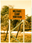 1965 Cadet and N.C.O.s Military Camp Sign