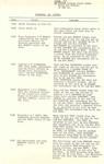 1965 Scotch College Cadet Unit March Out Parade Notes (page four)