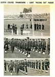 """1965 Scotch College Swanbourne - Cadet """"Passing Out"""" Parade Army Cadet Officers and N.C.Os and Pipe Band Parade 1965.9.19"""