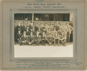 1925 Public Schools Sports Association 21st Annual Sports Meeting