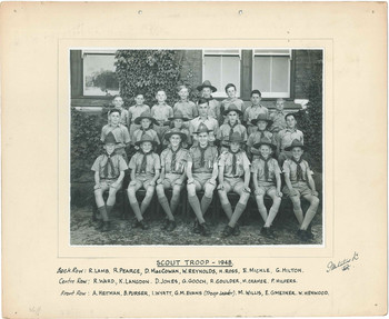 1948 Scout Troop