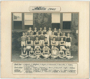 1945 Athletics Team