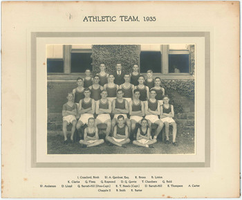 1935 Athletic Team