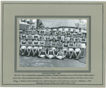 1950 Athletics Team