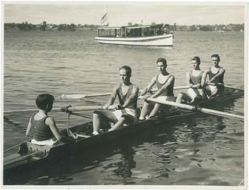 1947 First Four IV Rowing Crew