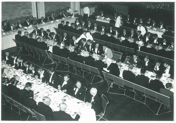 1950s OSC Fundraising Dinner at Memorial Hall