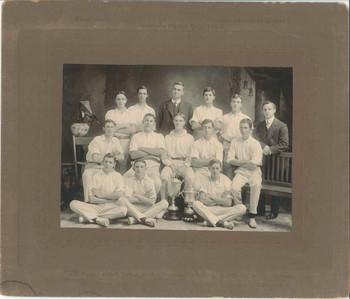 1911 - 1912 Scotch College Cricket Team