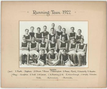 1922 Running Team