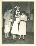 1958 Arms and the Man Dramatic Society production photograph