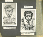 1948 - 1980 Caricature of Personalities at Scotch College by Don Thom