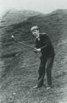 1893 Peter Corsar Anderson playing at the Amateur Golf Champion at St Andrews Gold course Scotland