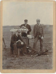 1893 Peter Corsar Anderson winning the Amateur Golf Champion at St Andrews Gold Course Scotland