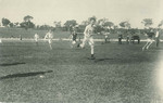 1910s Athletics Event on Playing Fields with Headmaster Peter Corsar Anderson in background