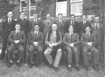 1940s Headmaster Peter Corsar Anderson and Prefects