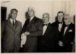1947 Headmaster Peter Corsar Anderson and Council members at the Council Dinner