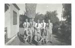 1940 - 1950s Scotch College Students with Teacher
