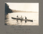 """1926 Boatshed The """"Pair"""" Tommy, Bob and J. Smart_1939"""