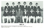 1979 Cricket Team First Eleven XI