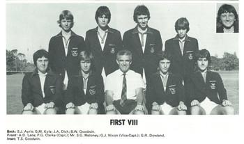 1979 Tennis Team First Eight VIII