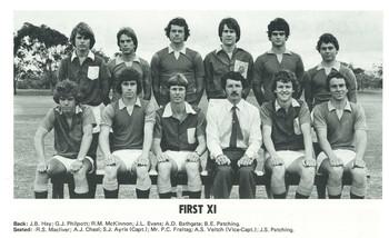 1979 Hockey Team First Eleven XI