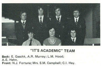 1979 It's Academic Team