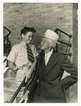 1958 Middle School Grandfather and grandson
