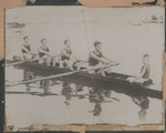 "1914 Rowing CrewFour IV - ""Finish of the Fours"""