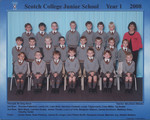 2008 Scotch College Junior School Year 1