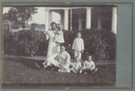 1920s Murray (Sherbourne) Sheppard OSC1925 and family at home in East Java on the plantation