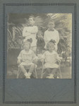 1920s Murray (Sherbourne) Sheppard OSC1925 and Melville Sheppard OSC1924) and siblings in East Java at their families plantation, Indonesia