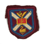 1953 - 1957 Cricket Hat Crest belonging to Keith Hall OSC1957