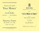 1951 Scotch College Dramatic Society Lets Make an Opera Programme