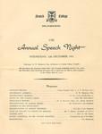 1951 Scotch College Annual Speech Night Programme