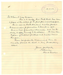 1952 Character Reference letter for Keith Hall OSC1957 rom Head Teacher of Scotch College
