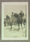 1916 Troops on Horses featuring The Prince of Wales (right) in Egypt reviewing the 5th division of the Australian AIF
