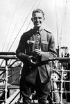 1919 Photograph of William Bill Hobson OSC1907 on his way home from the UK