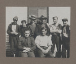 1919c Geoffrey Maxwell OSC1918 front left in the Murchsion Western Australia