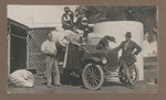 1919c Family in the Murchison with automobile