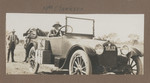 1919c Mrs Clarkson and automobile