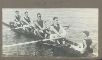 1917 Scotch College 'Four 1917' featuring Geoffrey Maxwell OSC1918 stroke