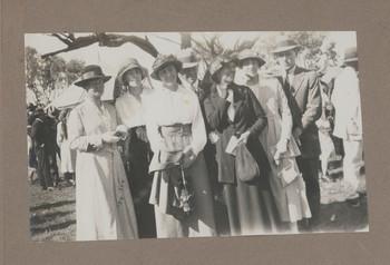 1918c Friends with Geoffrey Maxwell OSC1918 far right