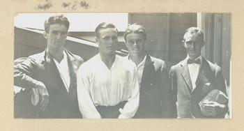 1916c Scotch College Students fetauring Geoffrey Maxwell OSC1918 second from left