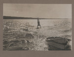 1919c Geoffrey Maxwell OSC1918 hand standing on the Swan River