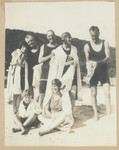 1919 Geoffrey Maxwells OSC1918 Family on Beach photograph