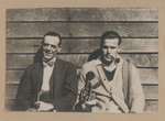 1919 Geoffrey Maxwell OSC1918 right and friend left