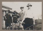 1919 Family in the Gascoyne with Kangaroo
